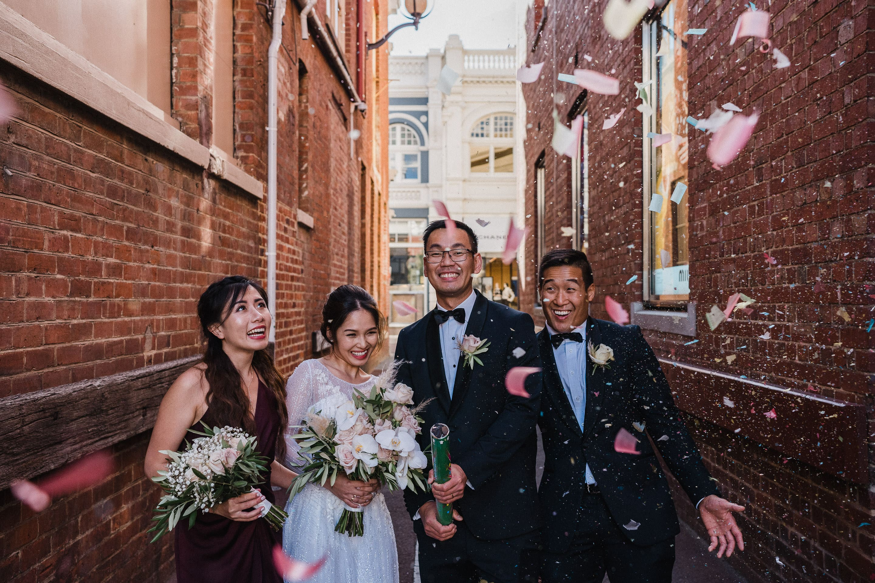 Perth City Old Tower House Wedding