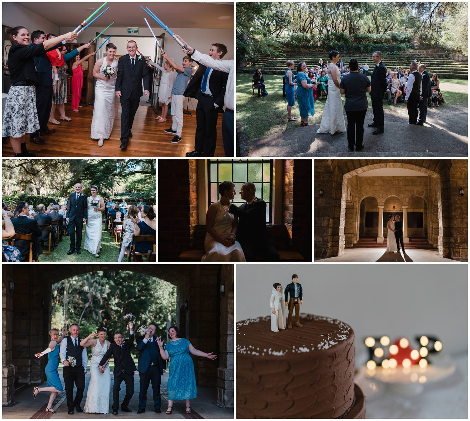 Elwyn + Phil - UWA Wedding