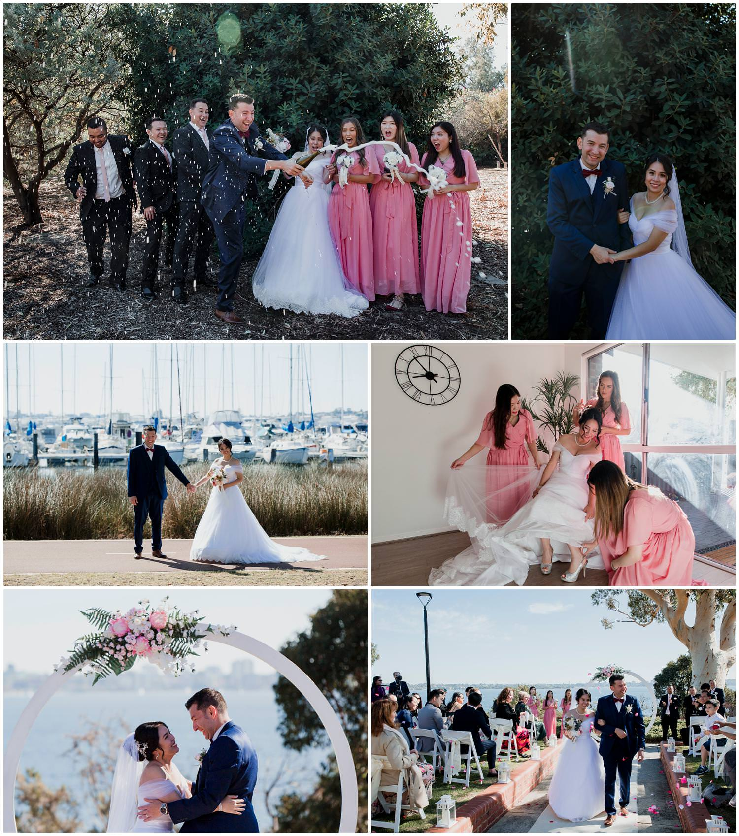 Yenny + Elad - BWG Steakhouse Wedding