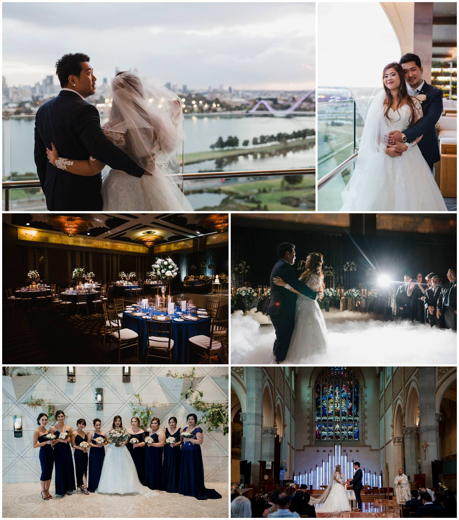 Disa + Jayson - St Mary's Catholic   Church Wedding