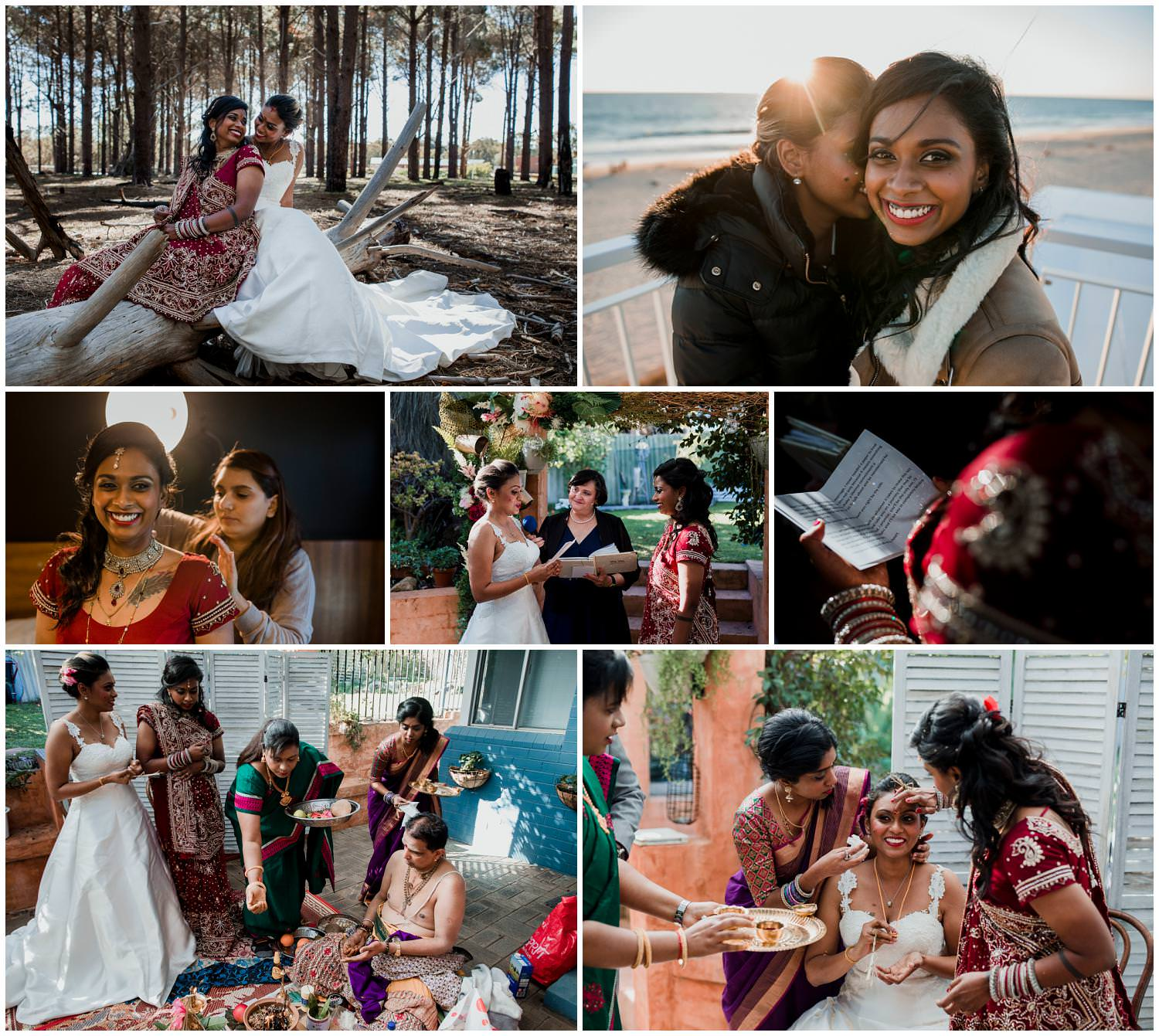 kaitiri + San - Perth Hindu Wedding