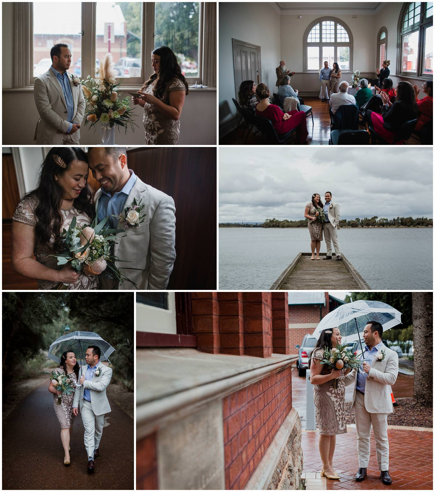 Brett+ Louise - North Perth Town Hall Wedding