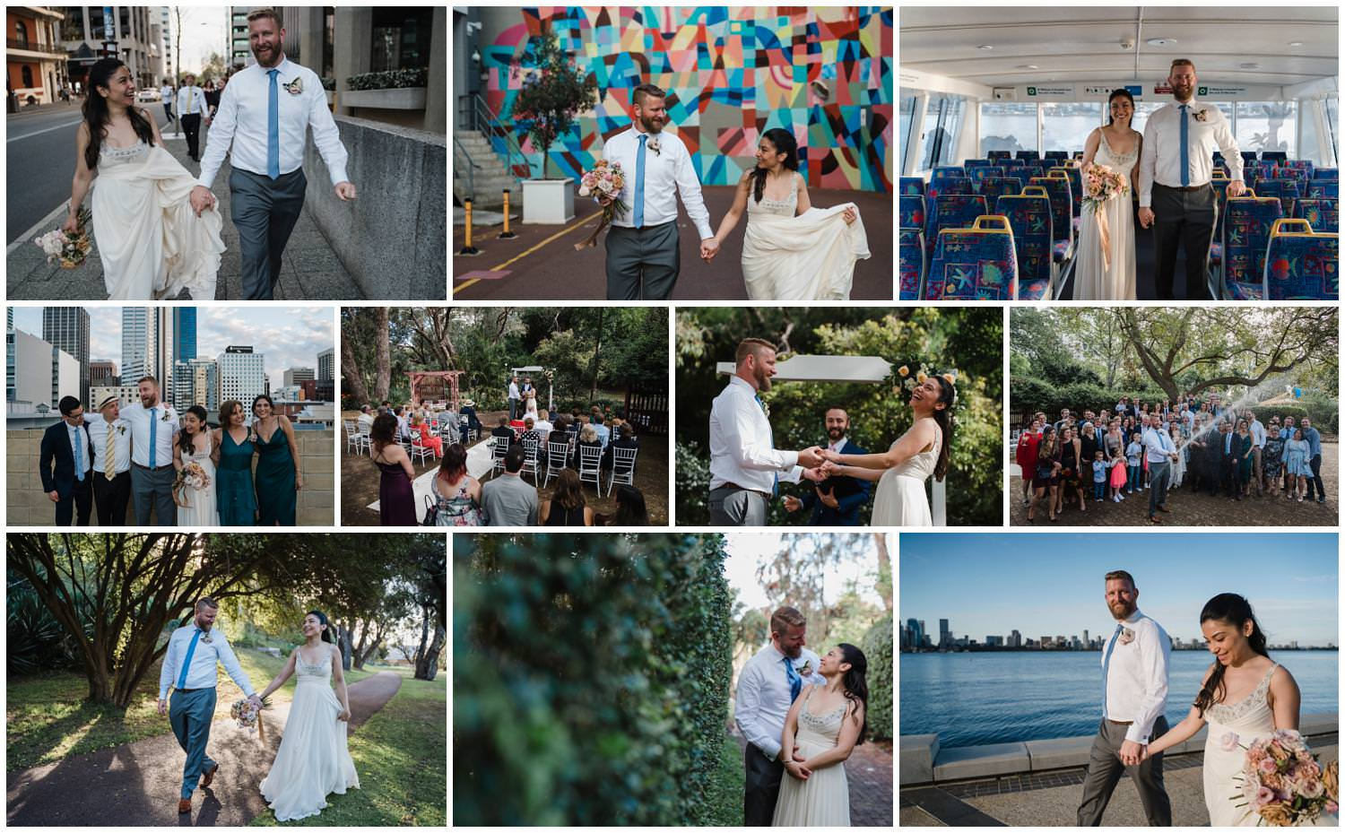 Monica + Daniel -  Scented Garden South Perth Wedding