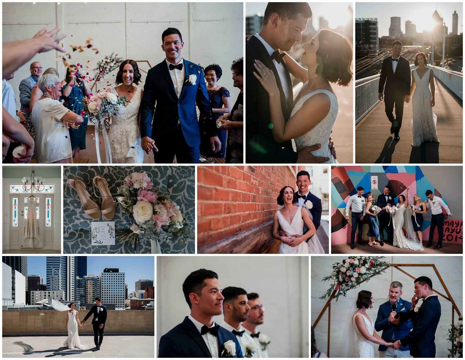Jess + Pete- Perth City Farm Wedding