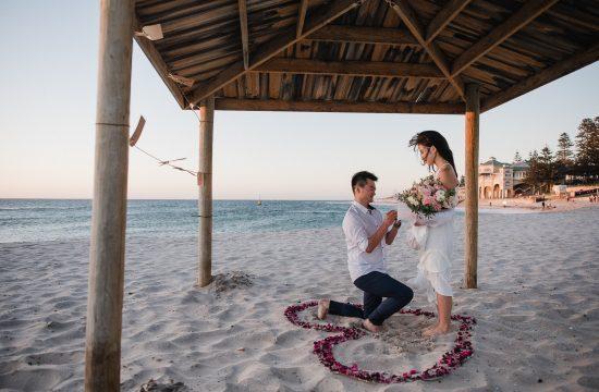 Perth Wedding Surprise Proposal